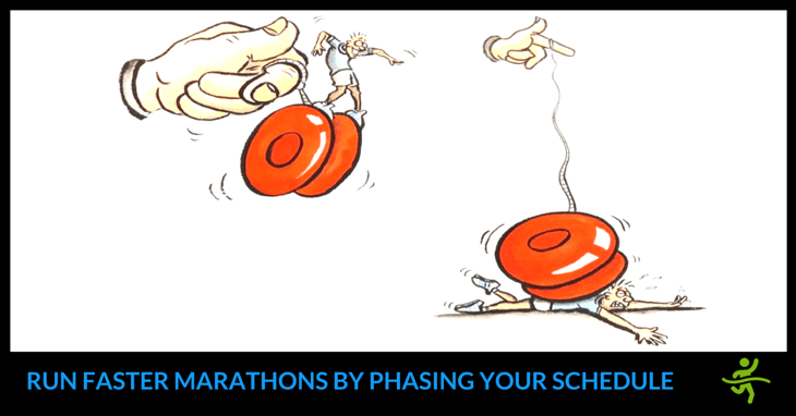 marathon training schedule phases