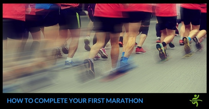 completing your first marathon
